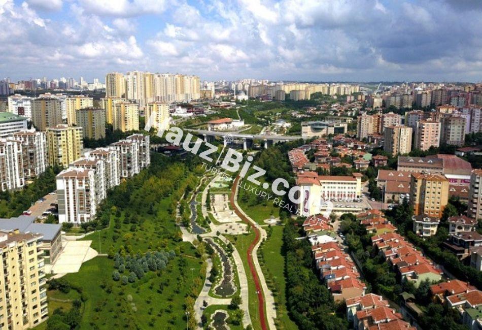 Başakşehir district in istanbul